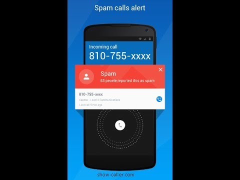 Show Caller: Block All Spam Numbers - Android & iPhone APP - Mark Calls as Spam + Much More!