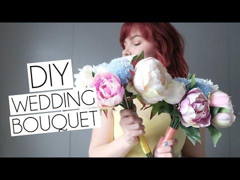DIY How To Wedding Bouquets Bride & Bridesmaid