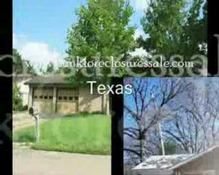 Texas Bank Foreclosures - TX