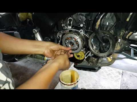 How to change the clutch plates of pulsar 200 NS RS AS