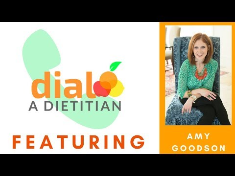 Sports Dietitian Interview: Amy Goodson | Dial a Dietitian Episode 5