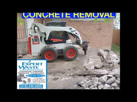 TORONTO JUNK REMOVAL 416-246-0260 TORONTO DUMPSTERS TORONTO CONTAINERS