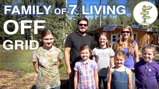 Download Family of 7 Living Completely Off-Grid in Northern Canada! Video