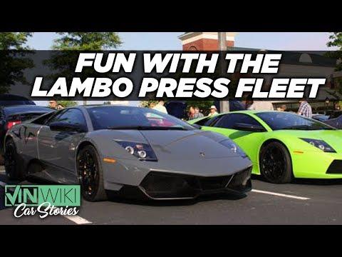 Avoiding Arrest & Unemployment with the Lambo Press Fleet