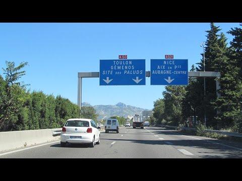 France: A50 Marseille - Cassis