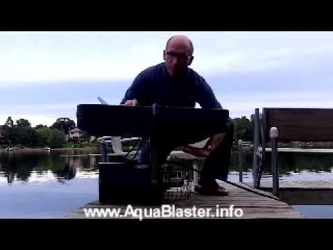 Floating Aqua Blaster on Float model