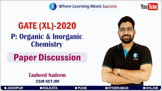 GATE LIFE SCIENCE 2020 Paper Discussion - Section P: Chemistry