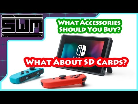 What Nintendo Switch Accessories Should I Buy? - SD Cards, Controllers and More!