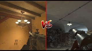 Call of Duty WW2 VS Battlefield 1 - Attention to Detail