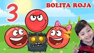 La Bolita Roja en la Cueva 3 | Juego para niños Red Ball 4 | Juegos Infantiles para niños