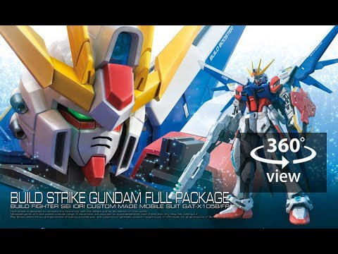 [360°Degree] RG 1/144 Build Strike Gundam Full Package