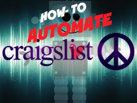How To Automate Craigslist