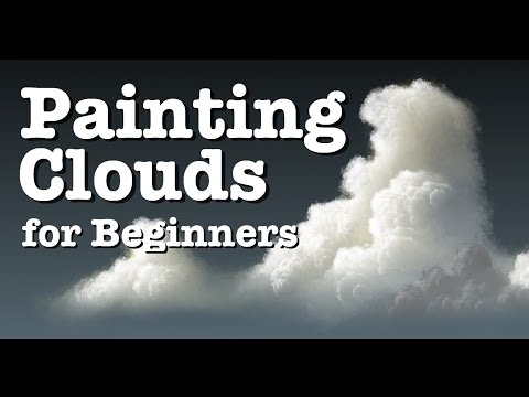 Painting Clouds for Beginners