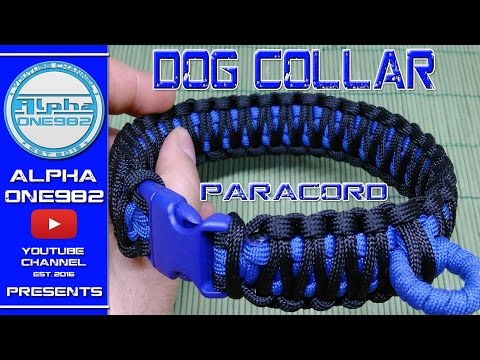 EPIC Paracord Dog Collar 2017 How To Make