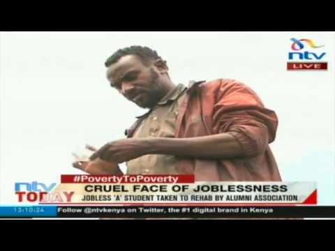 #PovertyToPoverty:  Jobless 'A' student taken to rehab by alumni association