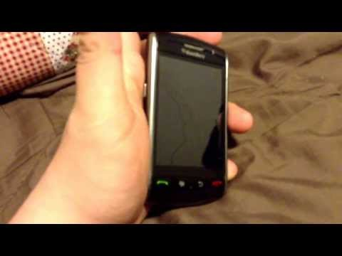 Blackberry storm 9530 review and  reset