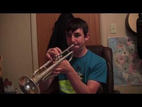 Trumpet Lesson-Range Building