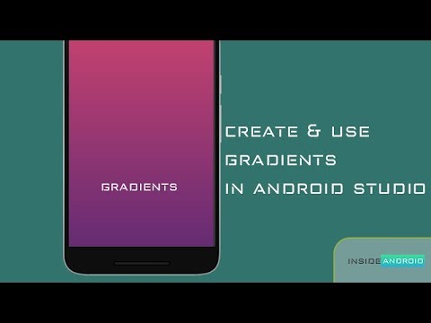 Create and Use Gradients in Android Studio