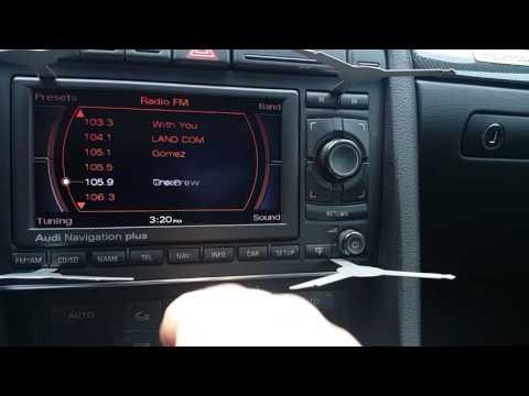 2005.5 audi s4 navigation plus RNS-E for sale