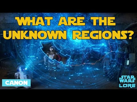 What are the 'Unknown Regions' in Star Wars?