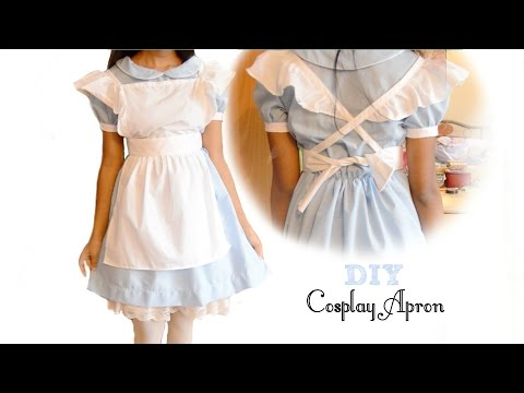 How to sew: Cute Cosplay Apron