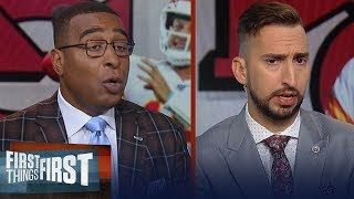 Nick and Cris discuss keys for Chiefs vs Lions & Patriots injuries | NFL | FIRST THINGS FIRST