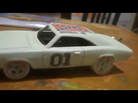 custom Hotwheels Hitch and tow custom car hauler and custom decals
