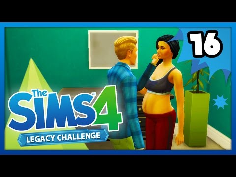MARRIED and PREGNANT! - The Sims 4: Legacy Challenge - Ep 16 -