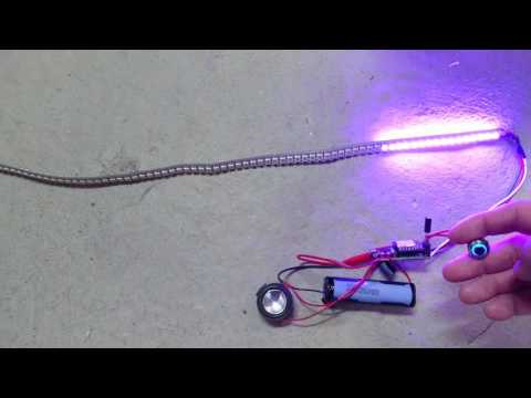 Arduino Beetle and Mini MP3 player - Lightsaber DIY