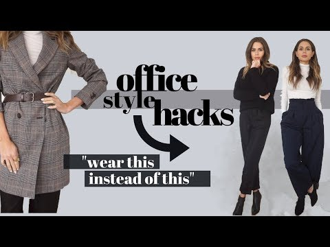 HOW TO ALWAYS LOOK STYLISH AT WORK   12 TIPS