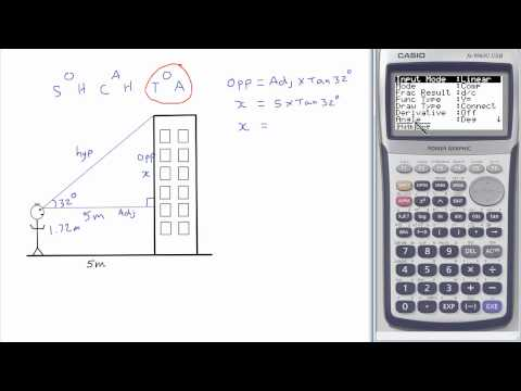 Trigonometry: finding side lengths in right-angled triangles