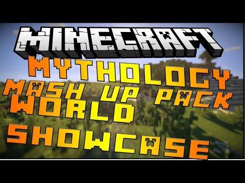 Minecraft Console: New Mythology Mash Up Pack!