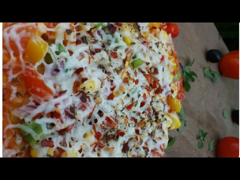Pizza | Pizza Without Oven Hindi Recipe | Corn Cheese Pizza And Veg Pizza.
