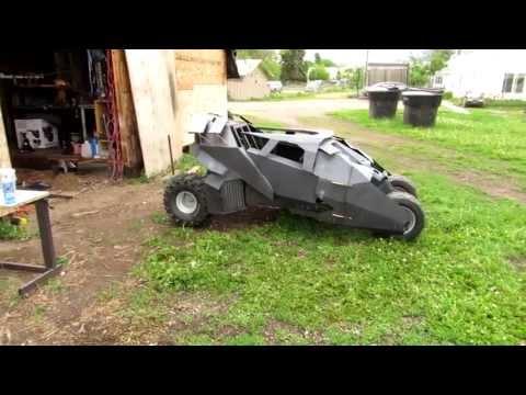 Batmobile go kart ( shocks )