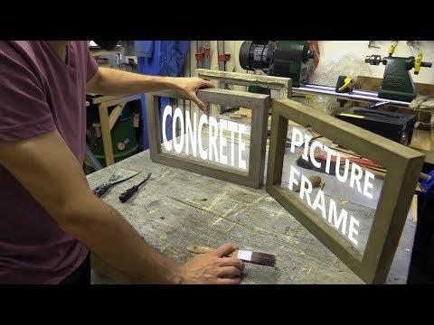 Concrete Picture Frame / Brutalist Sculpture