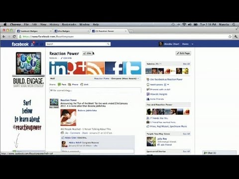 How to Become a Fan on Facebook & Get a Badge : How to Use Facebook