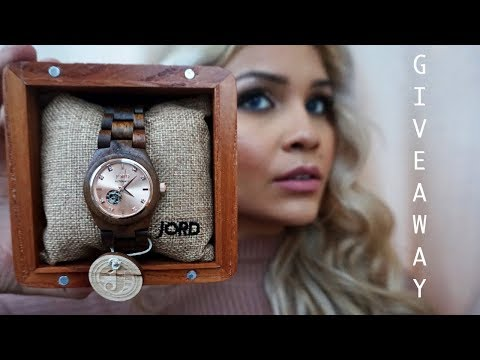 ME & MY HUSBAND GET DESIGNER WATCHES | JORD WATCH GIVEAWAY!!