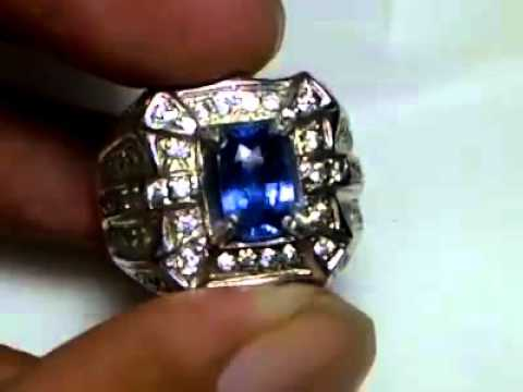 Blue sapphire srilanka lup clean 2ct up