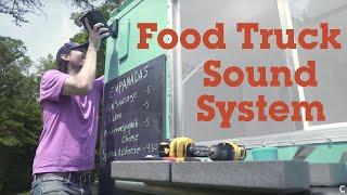 Adding good sound to a food truck   Crutchfield video