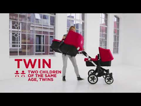 Full Demo -  How to use the Bugaboo Donkey Twin | Bugaboo Strollers