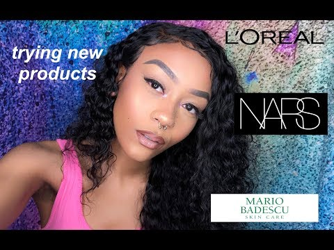 TRANSFORMATION | USING NEW MAKEUP PRODUCTS