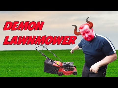 A Day In Our Life #25 Demon Lawnmower Drives Us Mad Vlog