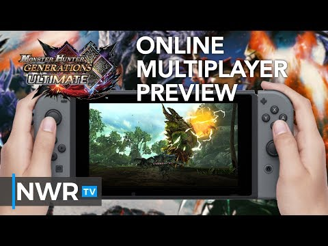 Monster Hunter Generations Ultimate Online Preview