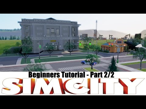 Simcity 5 - Beginner tutorial 2/2 - Drilling Specialization & How to make money!
