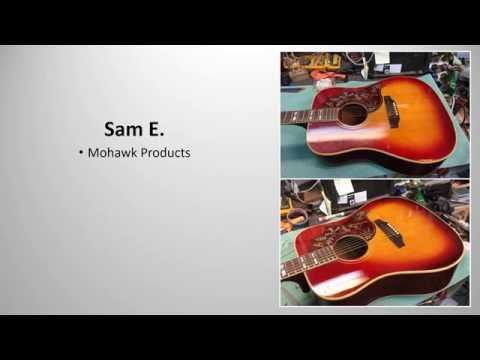 Guitar Finishing Slideshow