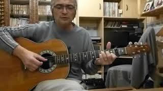 Si j'étais un homme de Diane Tell reprise à la guitare par Yann