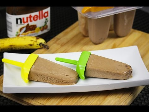 Banana and Nutella Popsicles - Episode 44 - Amina is Cooking