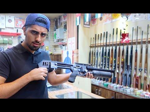GUN SHOPPING in Dubai !!!