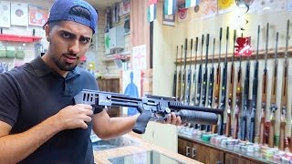 GUN SHOPPING in Dubai !!!