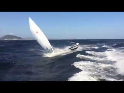 Extreme sailing laser